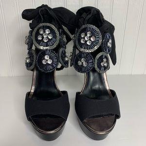 Bakers Embellished Bling Heels